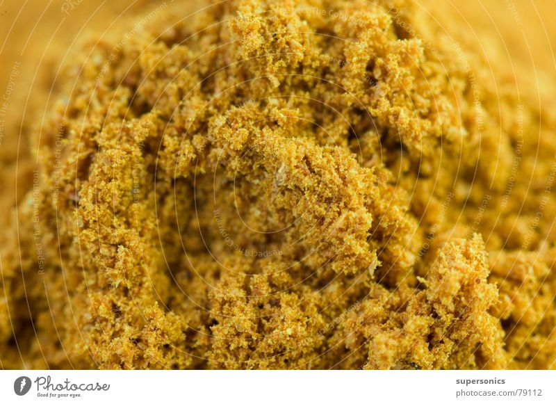 gold Herbs and spices India Yellow Curry powder Cute Gastronomy indian cuisine Thai cuisine Cooking Gold