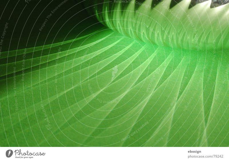 Green Colour Dark Lighting Bright Glittering Magic Pattern