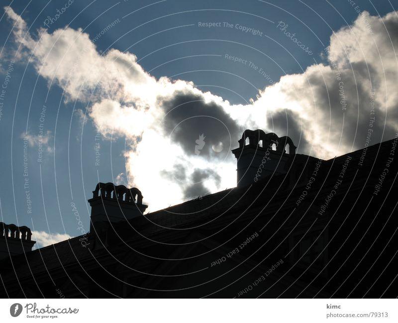 solar power Clouds Summer House (Residential Structure) Building Canopy Sky Light Shadow Sun Blue Rain Nature