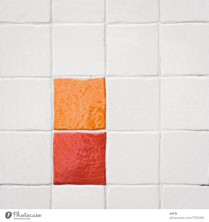 o/r Colour White Red Wall (building) Interior design Style Wall (barrier) Art Moody Line Orange Design Decoration Modern Esthetic Creativity