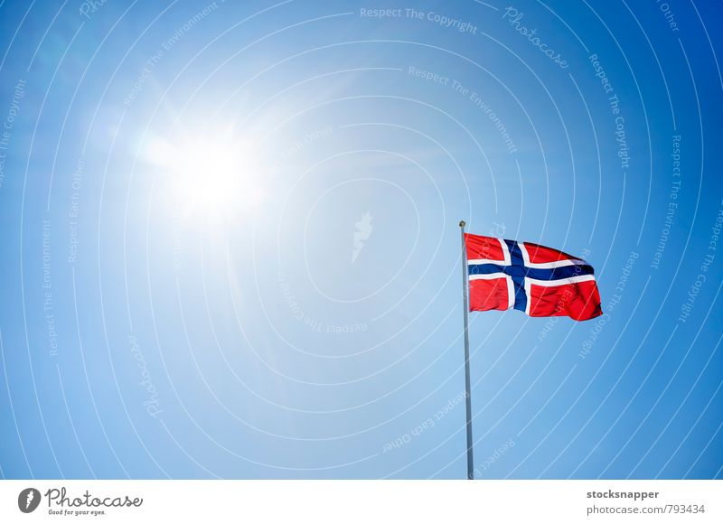 Norway Sky Sun Flag Norway Scandinavia Flare Nationalities and ethnicity Object photography Norwegian National Day