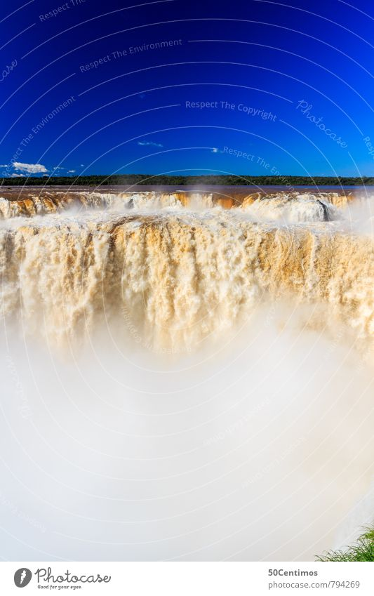 Iguazu Waterfalls in Missions, Argentina Vacation & Travel Tourism Adventure Far-off places Freedom City trip Summer vacation Hiking Nature Landscape