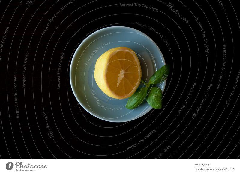 Lemon à la basil 2 Food Fruit Herbs and spices Nutrition Organic produce Vegetarian diet Juice Longdrink Cocktail Bowl Lifestyle Luxury Healthy Health care