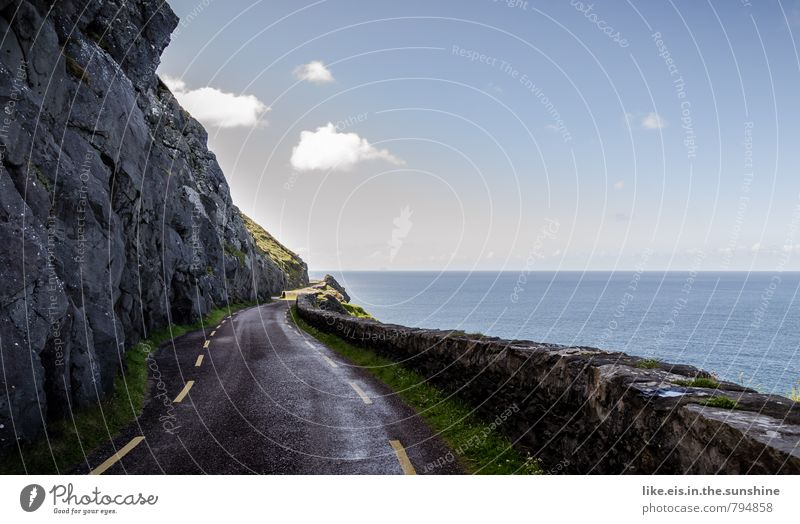 roadtrip under sheep clouds Environment Nature Landscape Far-off places Ireland Street Colour photo