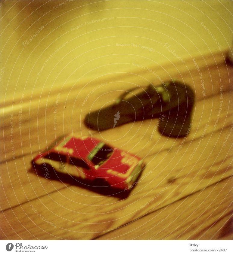 Flip Flop Car Footwear Flip-flops Still Life Toys Yellow Polaroid Obscure