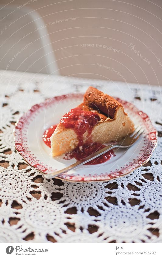 cheesecake Food Dough Baked goods Cake Candy Nutrition To have a coffee Vegetarian diet Plate Fork Delicious Natural Sweet Appetite Colour photo Interior shot