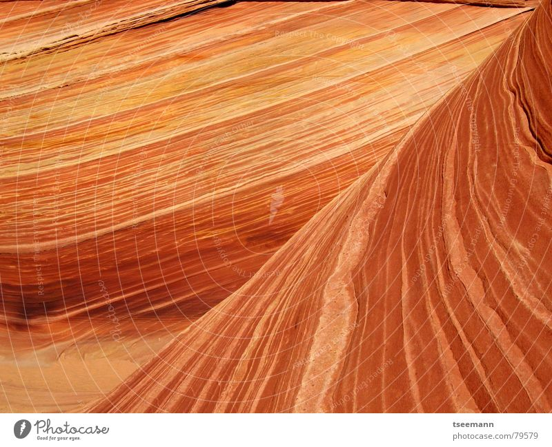 Red Yellow Mountain Stone Sand Orange Earth Waves USA Canyon Sandstone Marble Old Paria Coyote Buttes