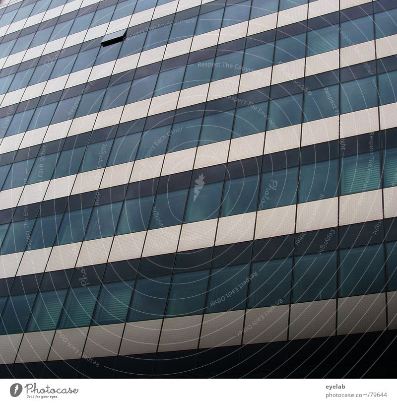 Blue Clouds House (Residential Structure) Window Gray Air Building Line Glass Closed High-rise Open Might Level Row