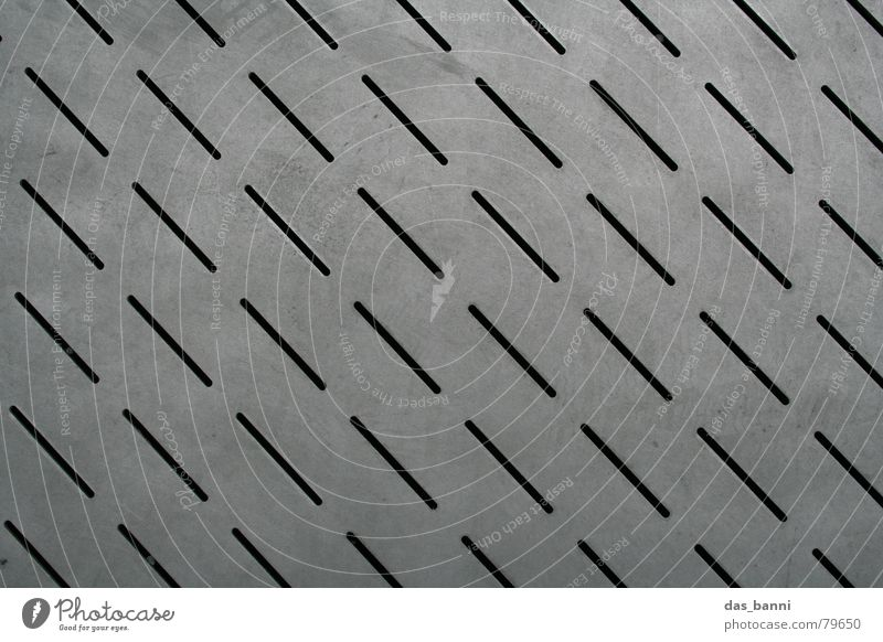 City Black Cold Gray Line Metal Dirty Industry Modern Floor covering Protection Tracks Row Pattern Footprint Diagonal