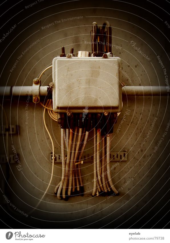 Gray Brown Metal Energy industry Power Back Technology Electricity Concrete Industry Cable Statue God Obscure Deities Splinter