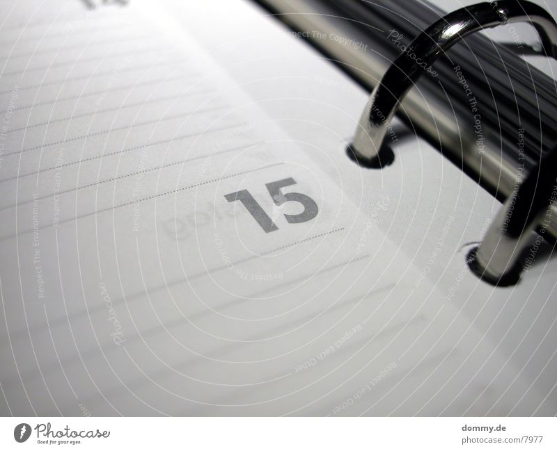 Business Graffiti Calendar Date 15 Week