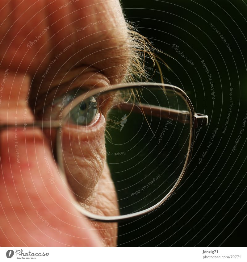 Man Face Eyes Glass Perspective Eyeglasses Observe Discover Audience Lens Pupil Fix Vision Witness