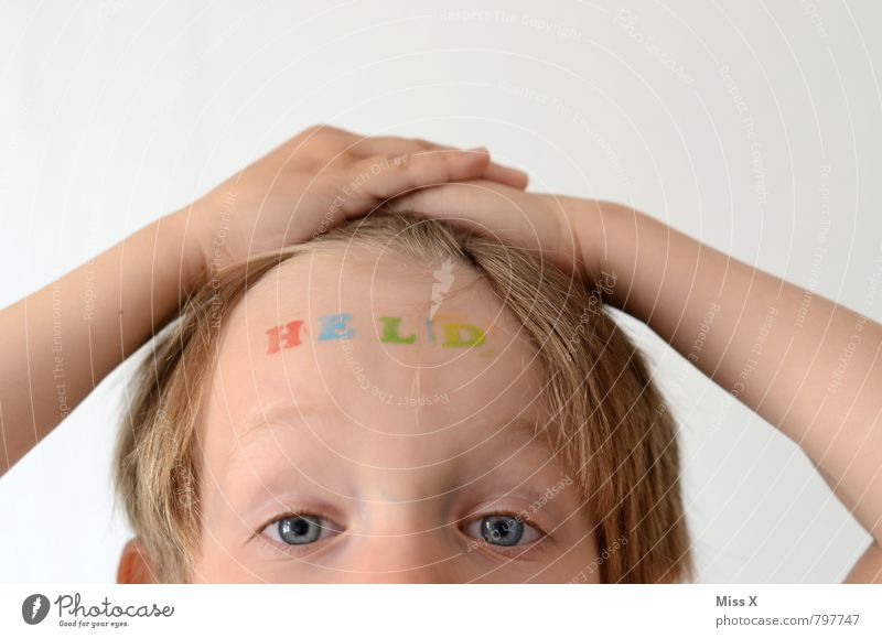H E L D Success Human being Masculine Child Boy (child) Head 1 3 - 8 years Infancy Blonde Sign Characters Emotions Moody Joy Bravery Self-confident Cool (slang)