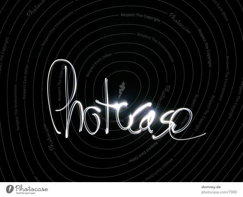 photocase Long exposure photon pump Write Characters kaz