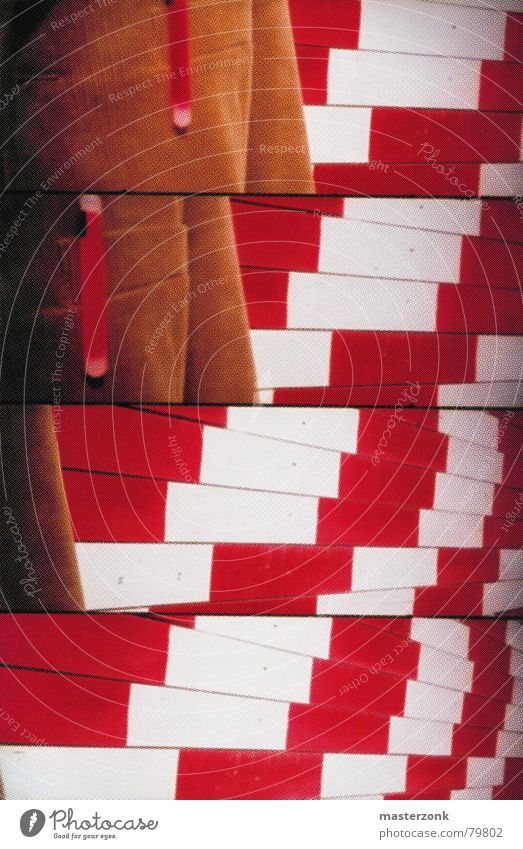 Lomo_building board Red Art Exterior shot Background picture Construction supervision Lomography 4-fold lomo construction board Crazy Construction site assembly