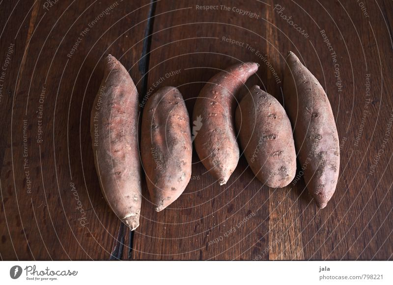 sweet potato Food Vegetable Potatoes sweet potatoes Nutrition Organic produce Vegetarian diet Simple Fresh Healthy Good Delicious Natural Wooden table