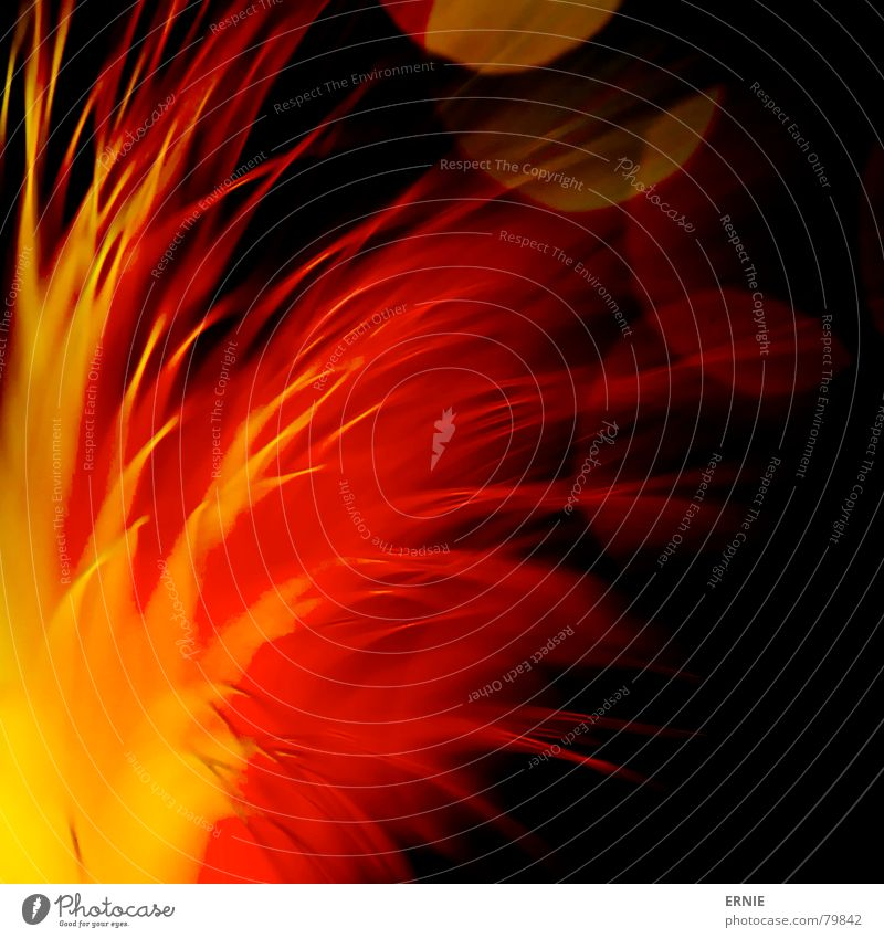 Red Yellow Lamp Dark Line Orange Glass Blaze Energy industry Electricity Toys Flame Muddled Dazzle Thread Distributed