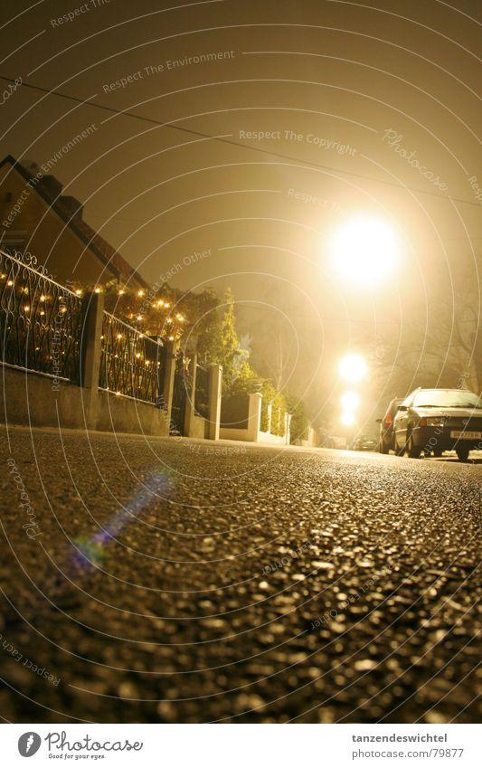 night and fog (2) Fog Night Winter Long exposure Alley Concrete Dark Street lighting Floor covering