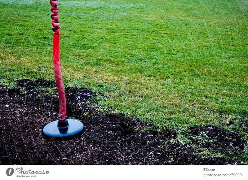 Red Black Meadow Rope Earth Places Round Leisure and hobbies Long Hang Seating Playground Greeny-black