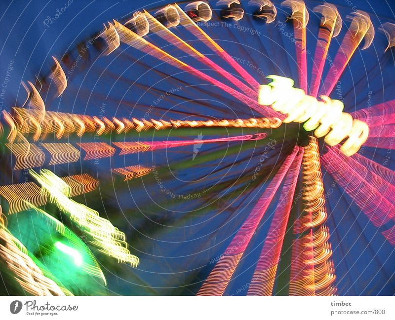 Human being Sky Blue Green Colour Red Joy Lamp Orange Action Crazy Speed Large Electricity Fairs & Carnivals Rotate