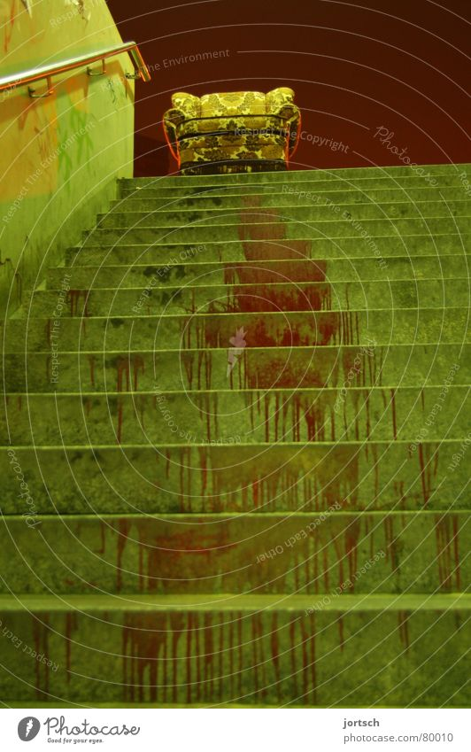Green Red Stairs Might Under Furniture Living room Blood Armchair Go up Hannover Lime tree