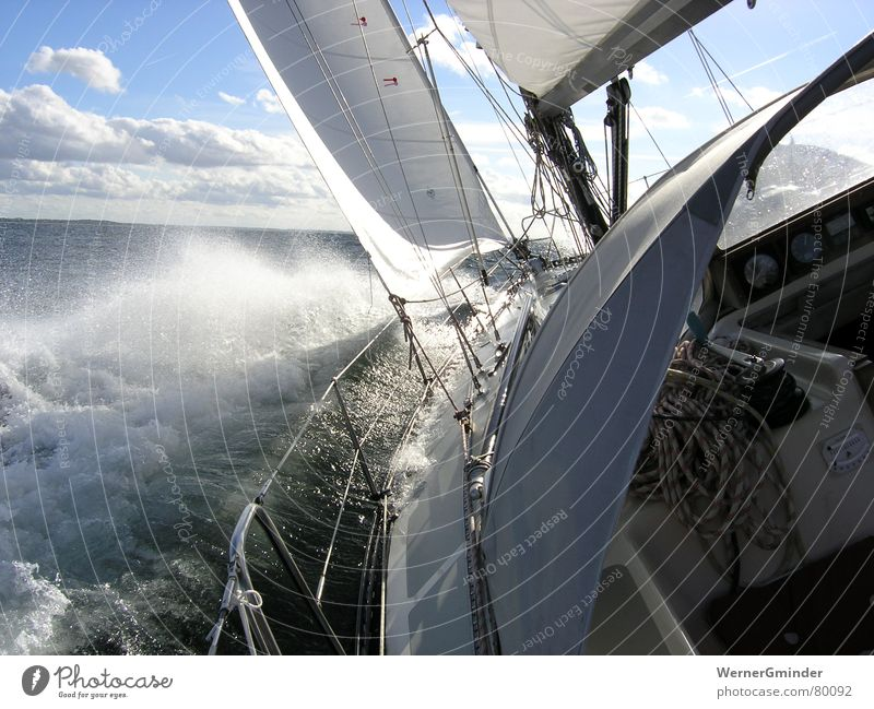 Nature Water Sky Ocean Vacation & Travel Sports Freedom Watercraft Waves Wind Leisure and hobbies Sailing Sailboat Aquatics Yacht White crest