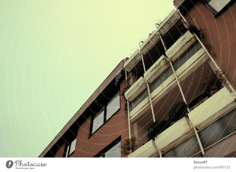 Sky Green City House (Residential Structure) Life Window Building Brown Design Horizon Things Balcony Beautiful weather