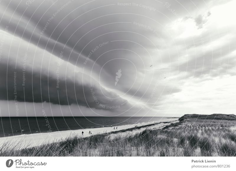 Sky Nature Ocean Landscape Clouds Far-off places Beach Environment Coast Lifestyle Rain Weather Tourism Air Waves Wind