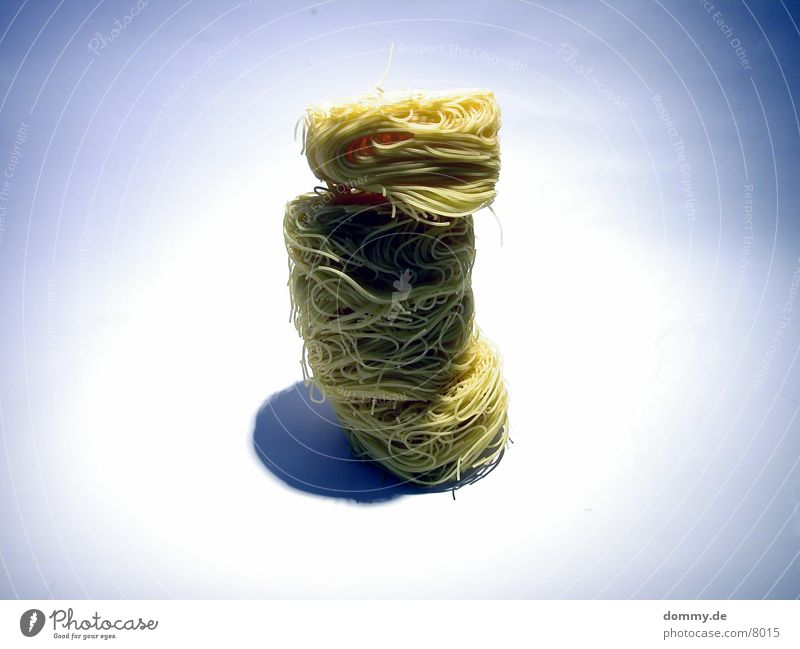 Yellow Healthy Circle Ball Noodles Heap