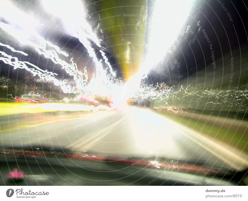 Colour Car Speed Long Traffic light Exposure