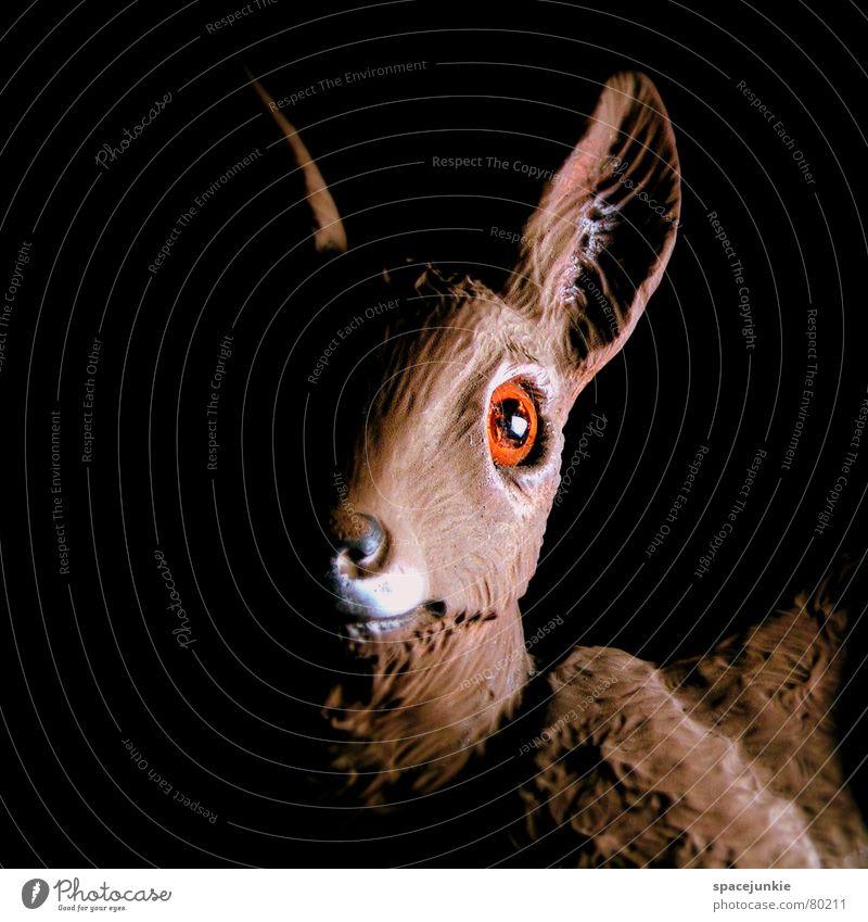 Nature Animal Funny Wild animal Sweet Cute Plastic Statue Mammal Roe deer Wilderness Deer Red deer