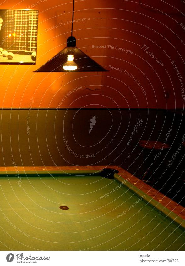 Green Lamp Orange Bar Gastronomy Hollow Electric bulb Rag Pool (game) Felt Roadhouse Tavern Guesthouse Dim Queue