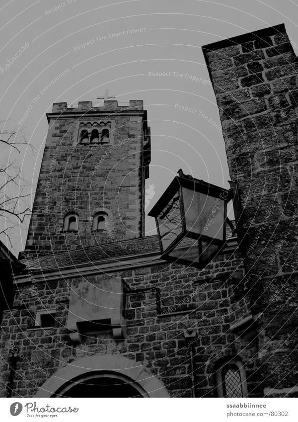 Wartburg Castle Wartburg castle Eisenach Dark Martin Luther Thuringia Narrow Grief Exterior shot Landmark Monument december grey Loneliness
