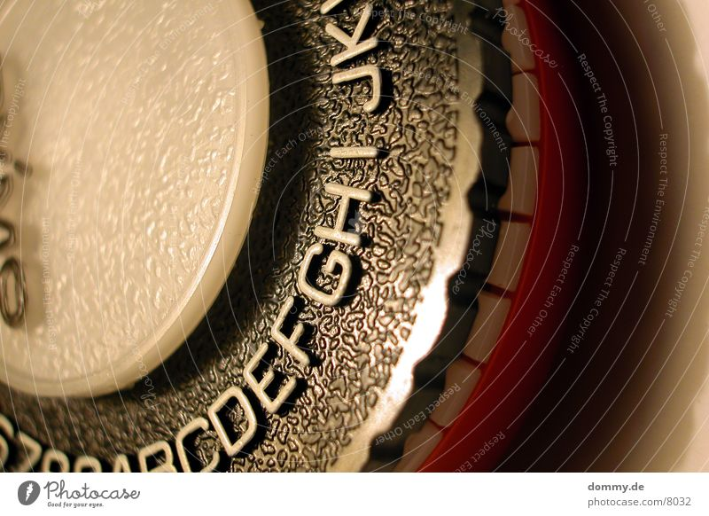 typomachine Typography Letters (alphabet) Machinery Macro (Extreme close-up) Close-up Pierce