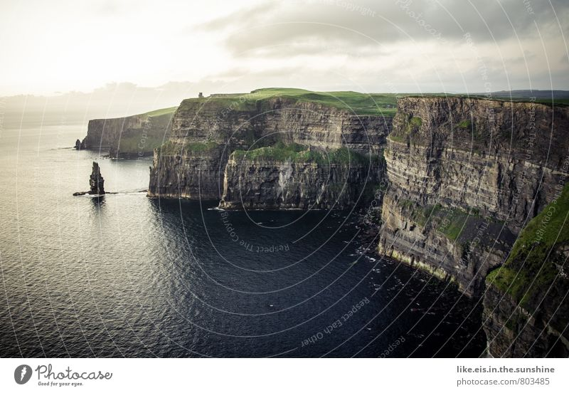Far-off places Environment Cliff Gigantic Ireland Cliffs of Moher