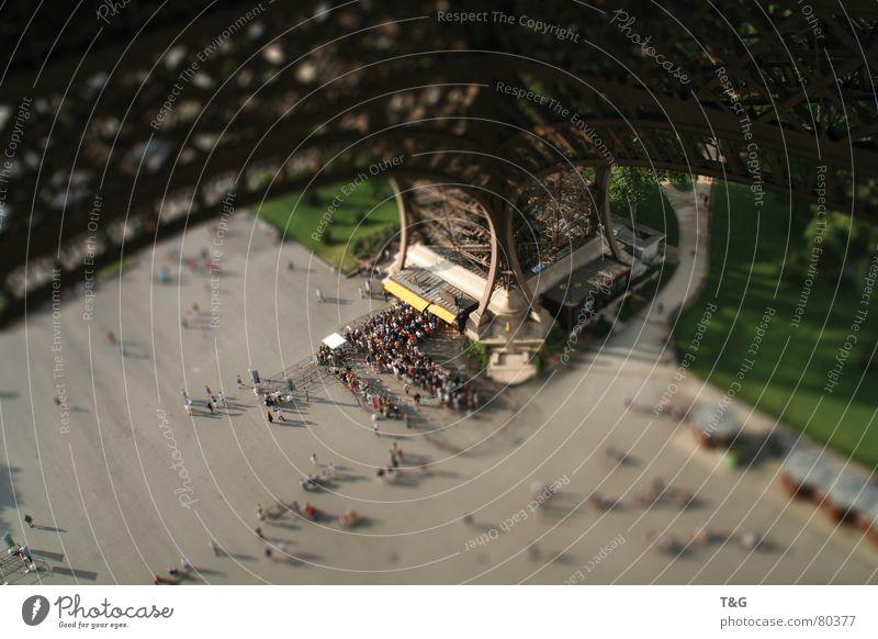 Architecture Europe Paris Photographic technology Tilt-Shift