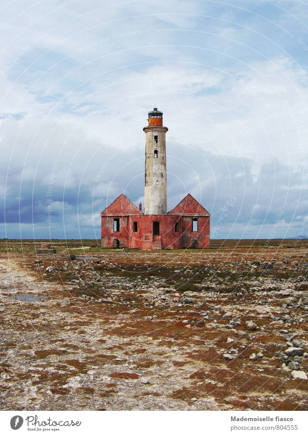 Old Loneliness Calm Building Stone Sand Idyll Transience Adventure Eternity Manmade structures Decline Ruin Lighthouse Destruction Nostalgia