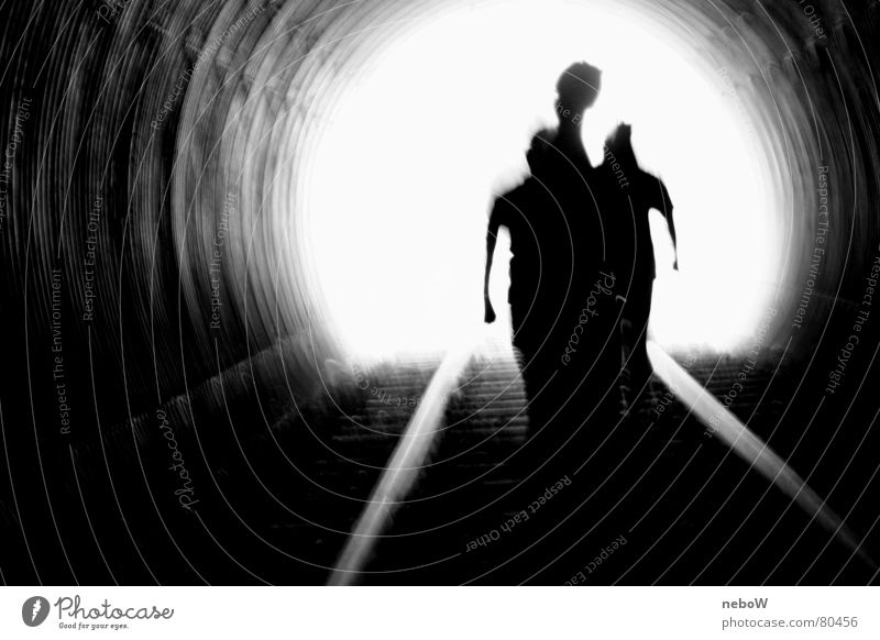 immersion Walking Rescue Resume Dark Light Railroad tracks Eternity Distress Fluid Hope Bright Tunnel Shadow Concern Resign Going Aphotic Gloomy Fear Darken