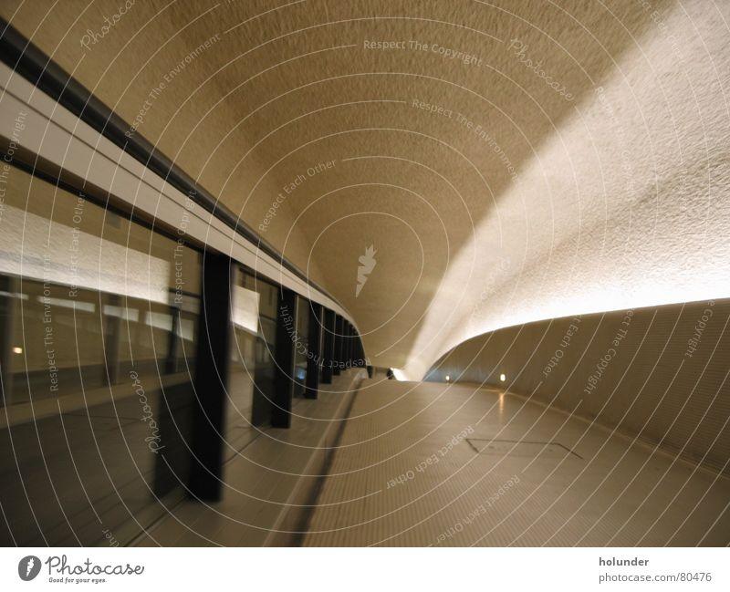Architecture Interior design Paris Airport Escape Escalator France