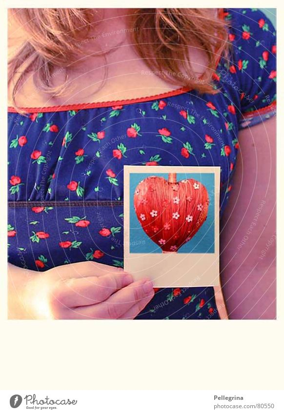 Woman Love Colour Emotions Playing Sadness Think Heart Hope Grief Polaroid Lovesickness
