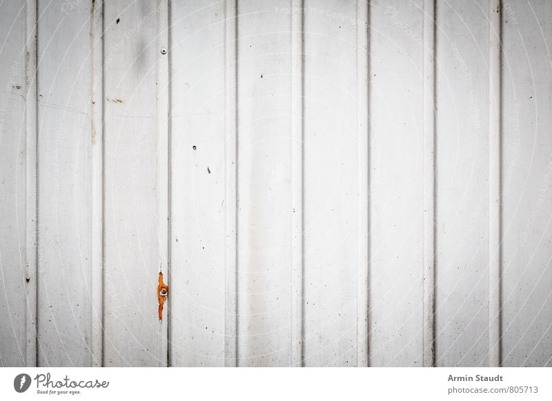 Old white board wall Town Wall (barrier) Wall (building) Facade Wooden wall Authentic Dirty Simple Trashy White Wooden board Varnished Background picture