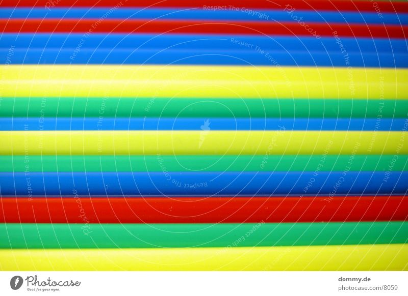 Green Blue Red Yellow Colour Blade of grass