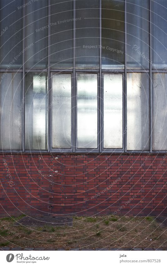 City Window Wall (building) Architecture Wall (barrier) Building Facade Gloomy Simple Manmade structures Factory Brick Industrial plant