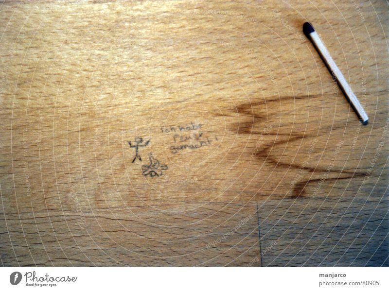 Joy Wood Brown Blaze Table Fire Burn Flame Match Wood grain Ignite Rustling Stick figure Tabletop Earmarked Kindle