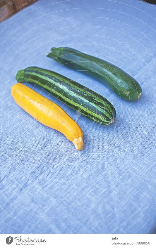 threesome Food Vegetable Zucchini Nutrition Organic produce Vegetarian diet Healthy Eating Fresh Delicious Natural Colour photo Interior shot Deserted