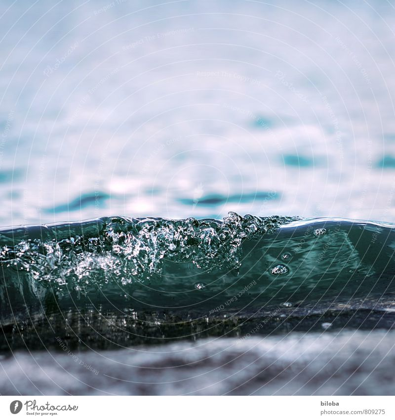 Nature Blue White Water Coast Waves Drinking water Drops of water Elements Lakeside Source