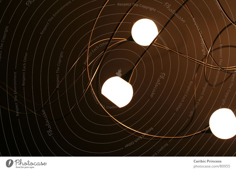 light tendrils Light Dark Curlicue Brown Room 3 Steel Electrical equipment Technology Bright Evening Meandering