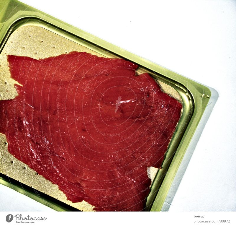 the smart Lola Fish Salmon Smoked salmon farmed salmon organic salmon aquaculture Packaging material Open Slice Food photograph Neutral Background
