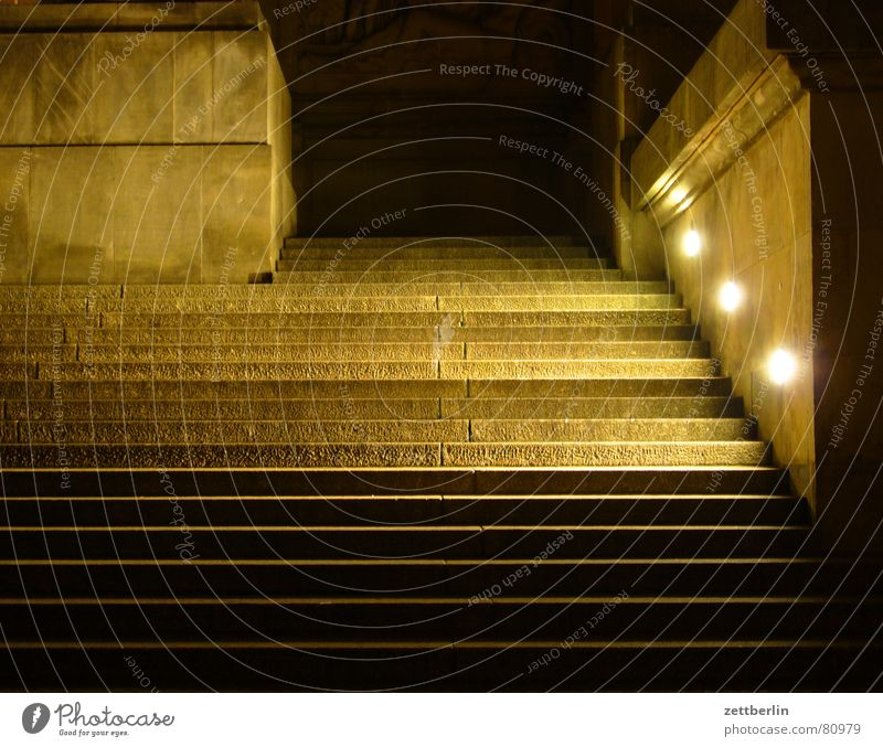 Lighting Stairs Might Historic Entrance Suitcase Column City trip Hallway Floodlight Go up Flare Foyer Reichstag Sandstone Administration