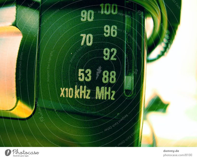 88 MHz Frequency Digits and numbers Macro (Extreme close-up) Close-up raio kaz